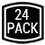 24 Pack